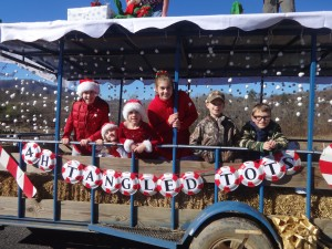 Cover photo for Swain County 4-H Wins First Place in Bryson City Christmas Parade!