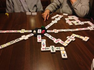 Cover photo for Community Train Dominoes and Other Social Games