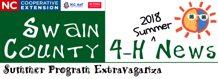 Swain County 4-H News banner