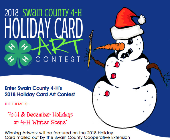 2018 Holiday Card Art Contest | North Carolina Cooperative Extension