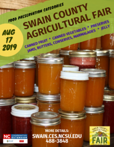 Food preservation flyer image