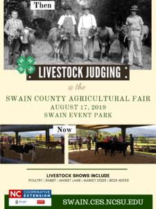 Livestock judging flyer image