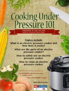 Cover photo for Cooking Under Pressure 101