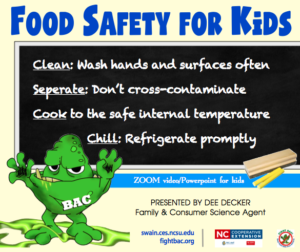Cover photo for Food Safety for Kids