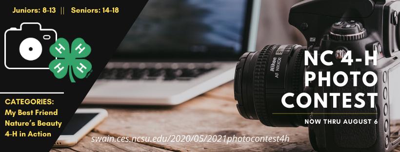 2021 NC 4-H Photo Contest