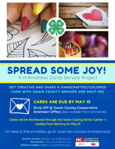 Cover photo for 4-H Kindness Cards Service Project