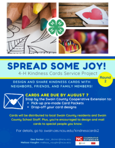 Cover photo for 4-H Kindness Cards Service Project (Round 2)