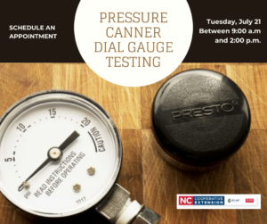 Cover photo for Pressure Canning Dial Gauge Testing Day