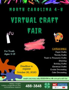 4-H Virtual Craft Fair