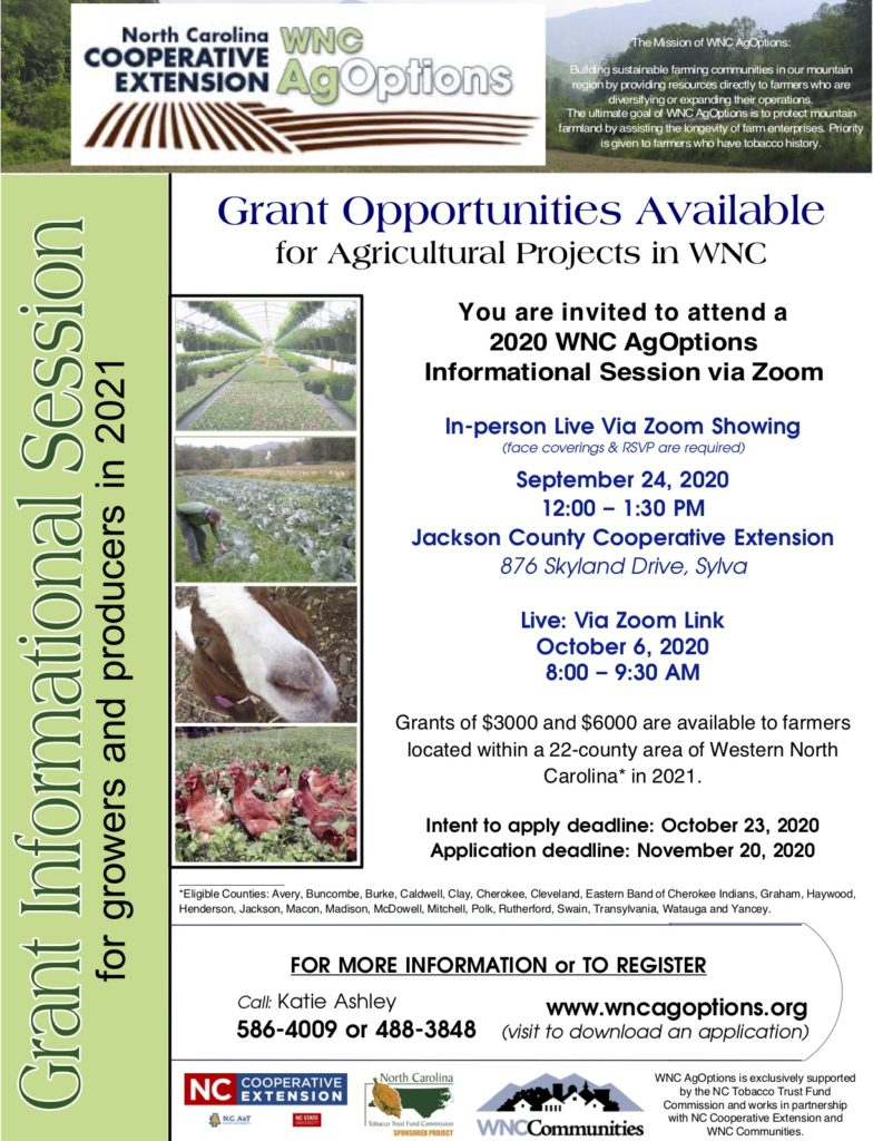 2020 AgOptions Information Sessions information