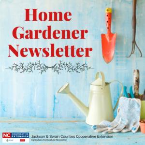 Home Gardener NewsletterLOGO