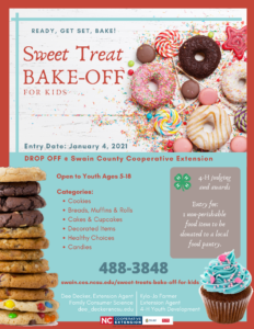 Cover photo for Sweet Treats Bake-Off for Kids