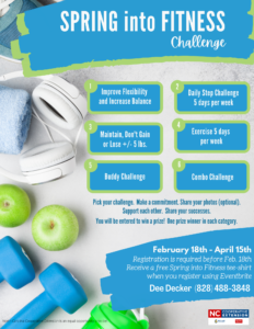 Spring into Fitness Challenge