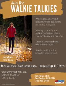 Walkie Talkies Fall 2021