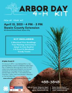 Arbor Day 4-H Kit