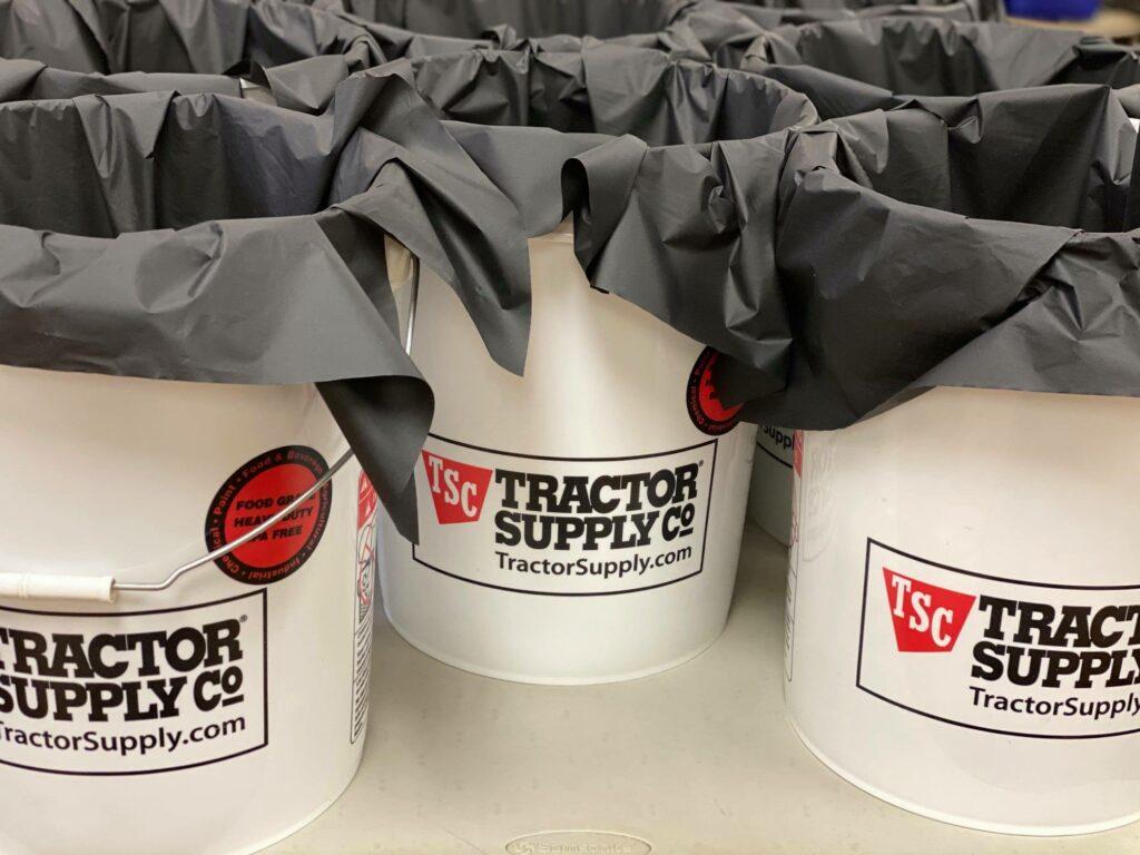 Jerky take home buckets