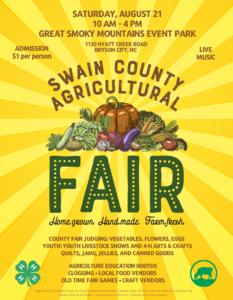 2021 Swain County Fair