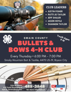 Bullets and Bows 4-H Club - Generic