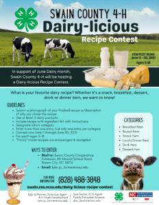 Dairy-licious Recipe Contest
