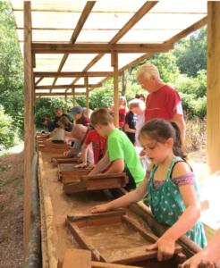 youth gem mining